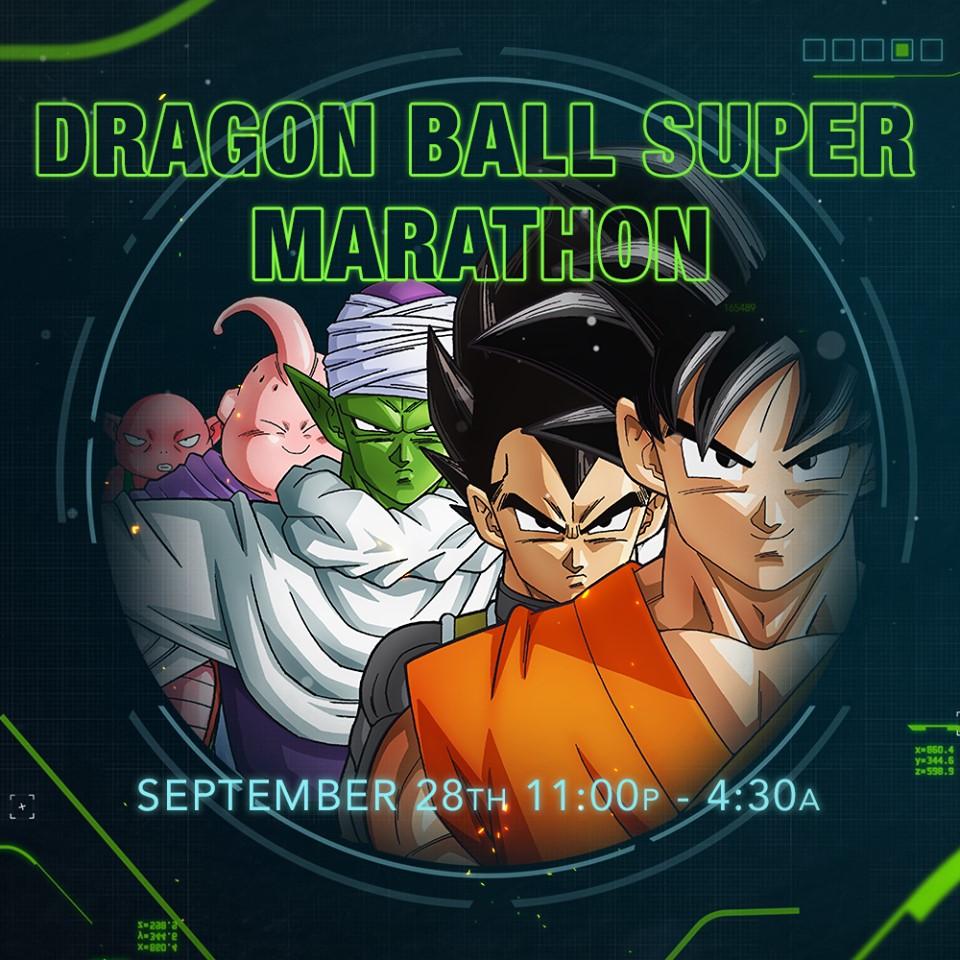 Dragon Ball Super Marathon (September 2019)