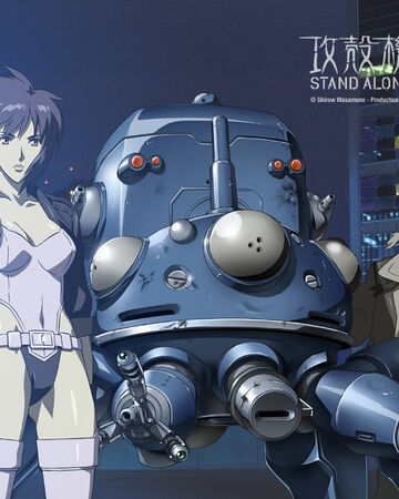 Ghost In The Shell Stand Alone Complex Toonami Wiki Fandom