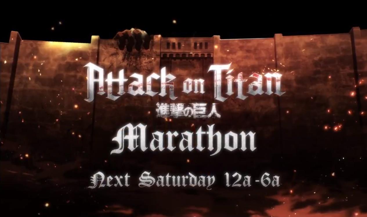 Attack on Titan Marathon