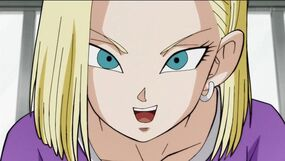 Android 18 DBS