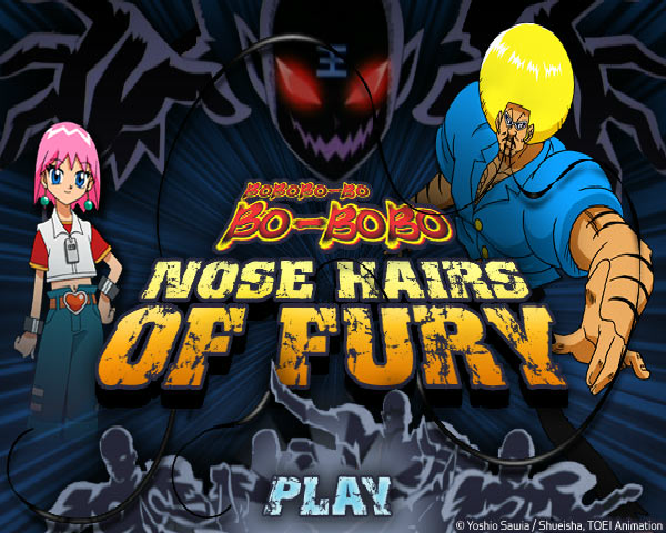 Bobobo-Bo Bo-Bobo: Nose Hairs of Fury