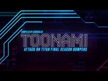 Toonami - Attack on Titan Final Season Bumpers (HD 1080p)