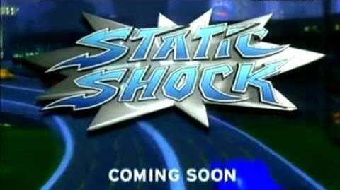 Toonami UK Static Shock Promo