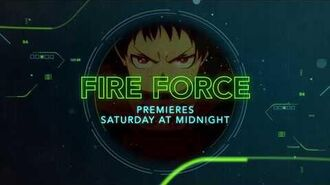 Fire Force - 1st Toonami Promo