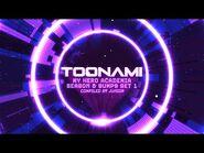 Toonami - My Hero Academia Season 5 Bumps Set 1 (HD 1080p)