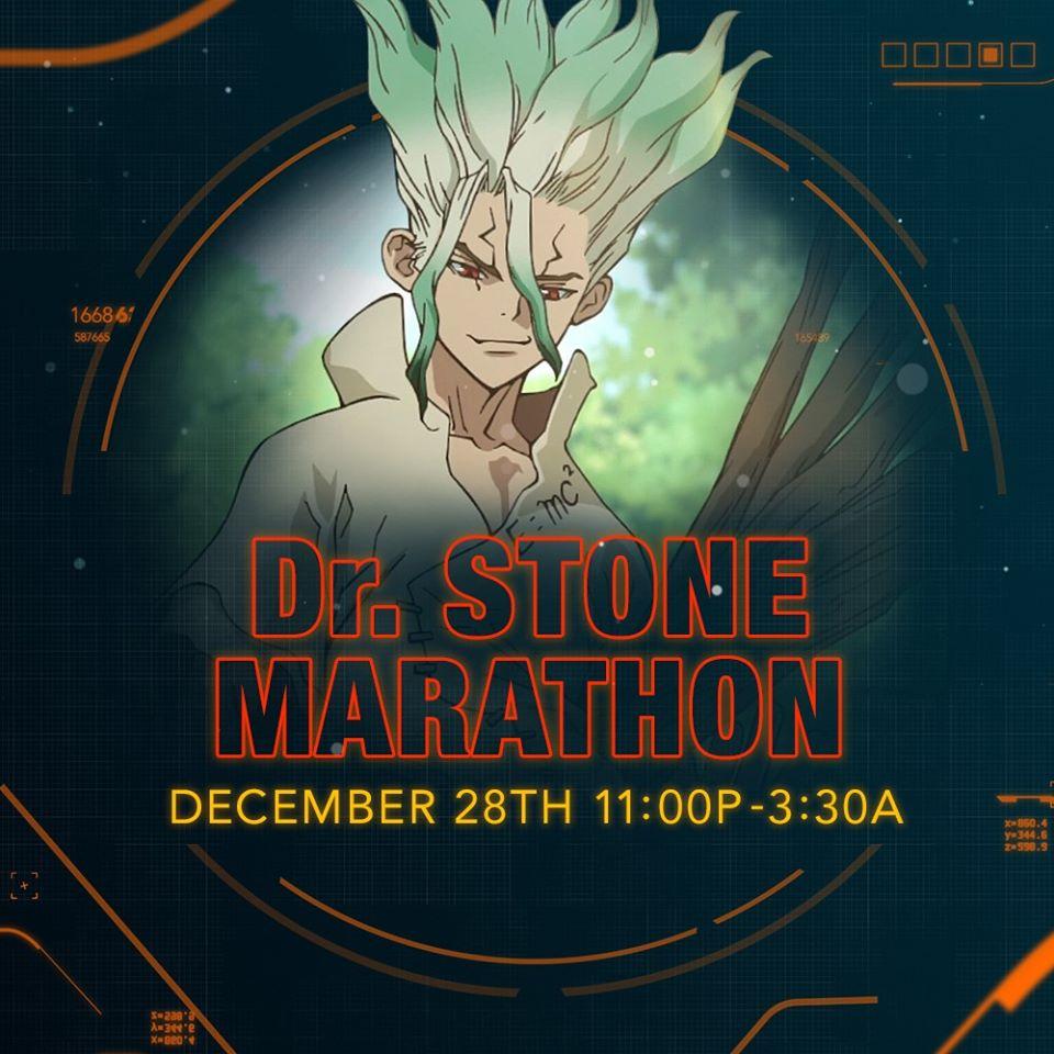 Dr. Stone Marathon (December 2019)