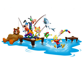 Toontown Fishingstoons 4512