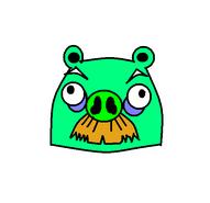 Mustache Pig