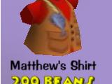 Matthew's Shirt