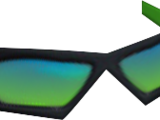 Green Narrow Glasses