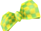 Green Checker Bow
