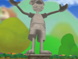 Toon Embrace Statue