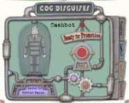 Cashbot Cog Disguise