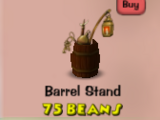 Barrel Stand