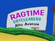 Ragtime Dry Cleaners ad