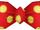 Red Polka Bowtie