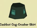 Cashbot Cog-Crusher Skirt