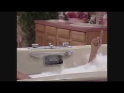 Caught Naked in Shower ENF Who's The Boss S01E02-2
