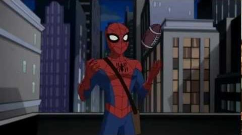 The Spectacular Spiderman Season 1 Episode 5 Competition