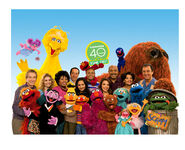 Sesame Street 40 years picture