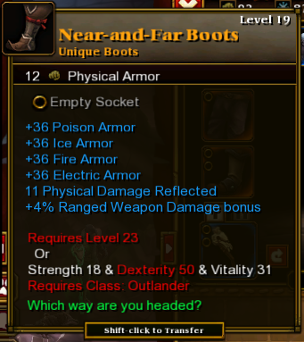 Near-and-Far Boots