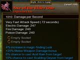 Axe of the Elder One