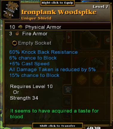 Ironplank Woodspike