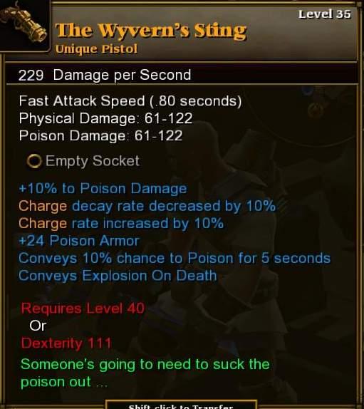 The Wyvern's Sting