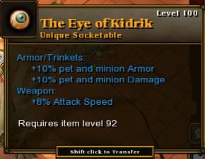 The Eye of Kidrik