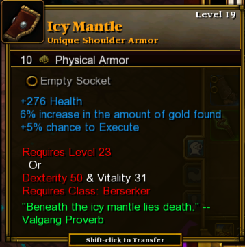 Icy Mantle