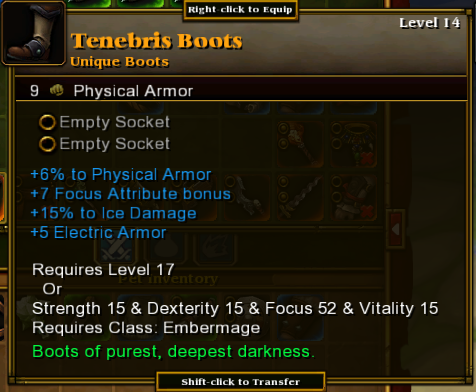 Tenebris Boots