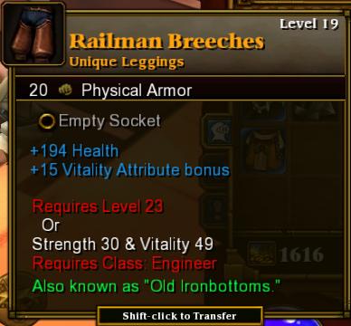 Railman Breeches