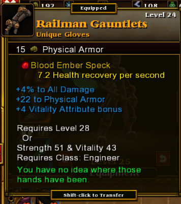Railman Gauntlets