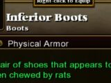 Inferior Boots