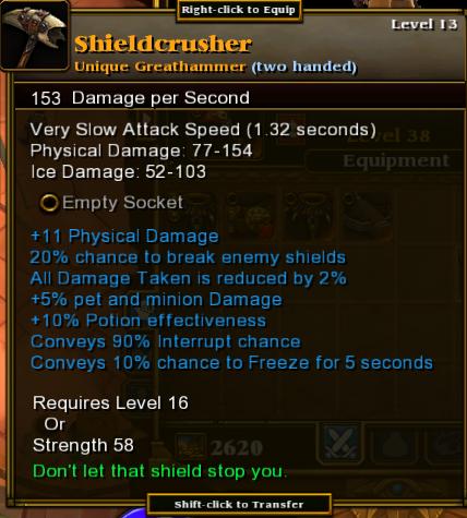 Shieldcrusher