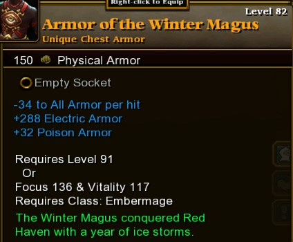 Armor of the Winter Magus
