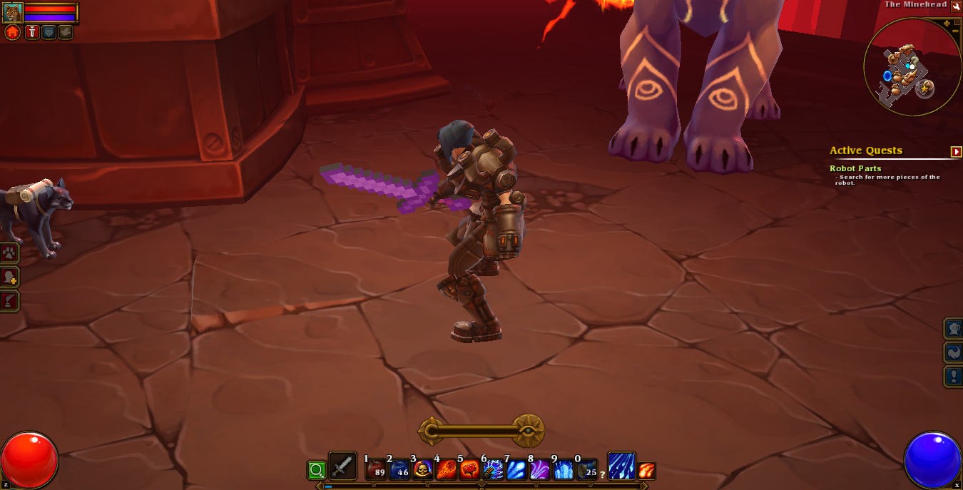 Embermage holding Cobblestone Sword.png