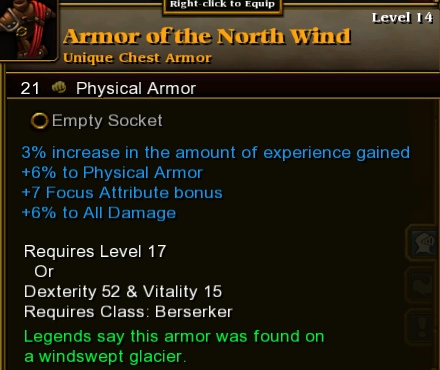 Armor of the North Wind