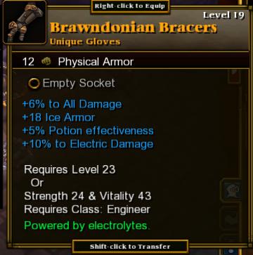 Brawndonian Bracers