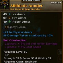 Alhidade Amulet Torchlight Wiki Fandom If all 3 linked gems reach their trigger damage at the same time (say, from one big hit), they will each cast nearly. alhidade amulet torchlight wiki fandom