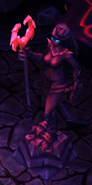 Dark Zealot statue