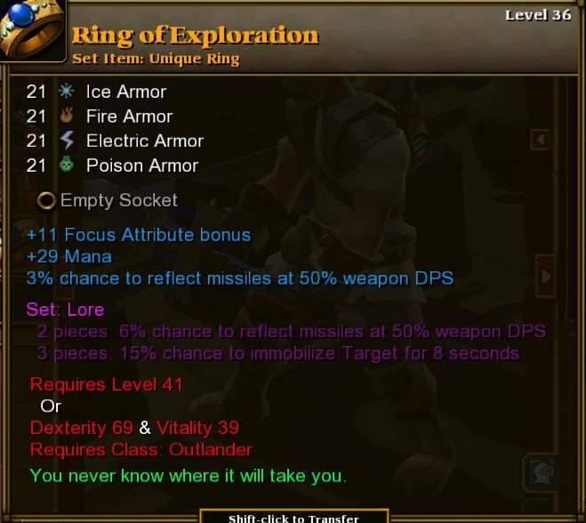 Ring of Exploration