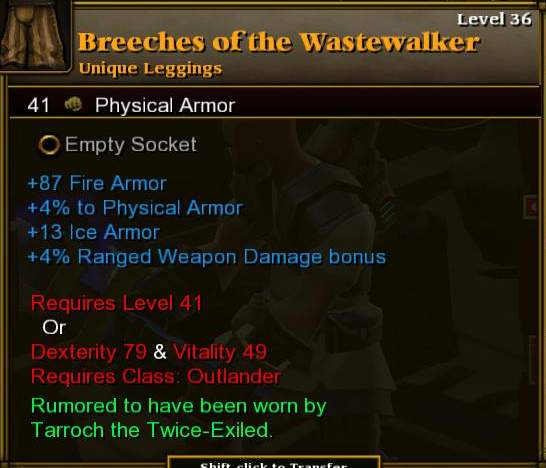 Breeches of the Wastewalker