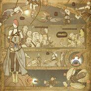 Pirates - Comic Book Tattoo