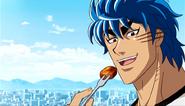 Garlicow eating Toriko