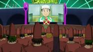 Komatsu watched on Gourmet Casino