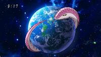 Serpiente Madre Longitud(Anime)