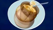 Montblamen in Honey soup