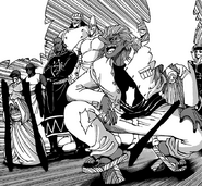The chefs preparing to fight Bishokukai