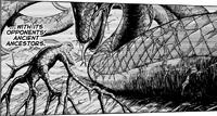 Serpiente Madre vs Cuatro Bestia (Manga)